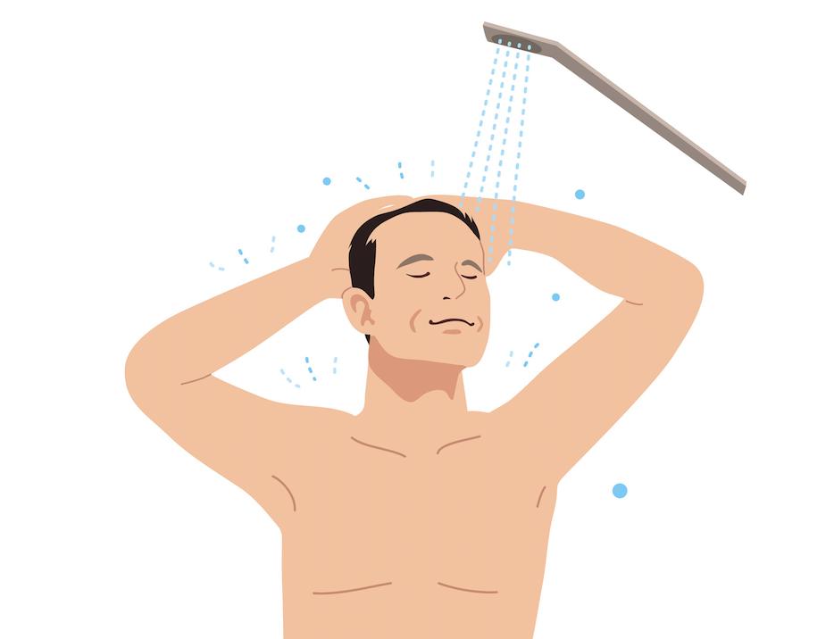 髪の洗い方